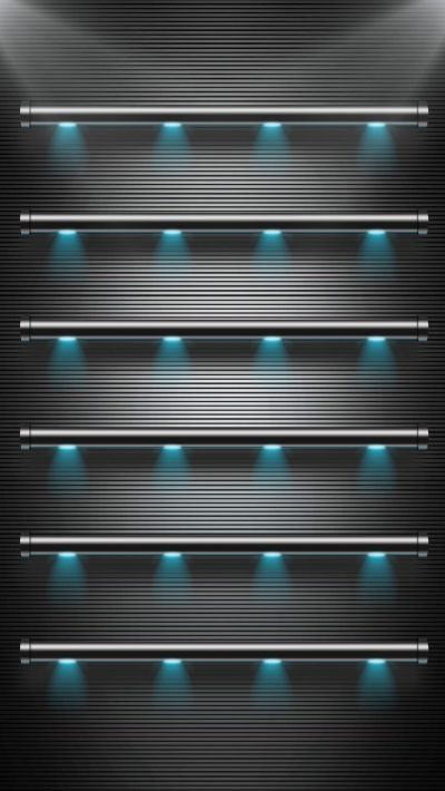 TAP AND GET THE FREE APP! Shelves Stylish Black Lights Metallic Texture Minimalistic HD iPhone 6 ...