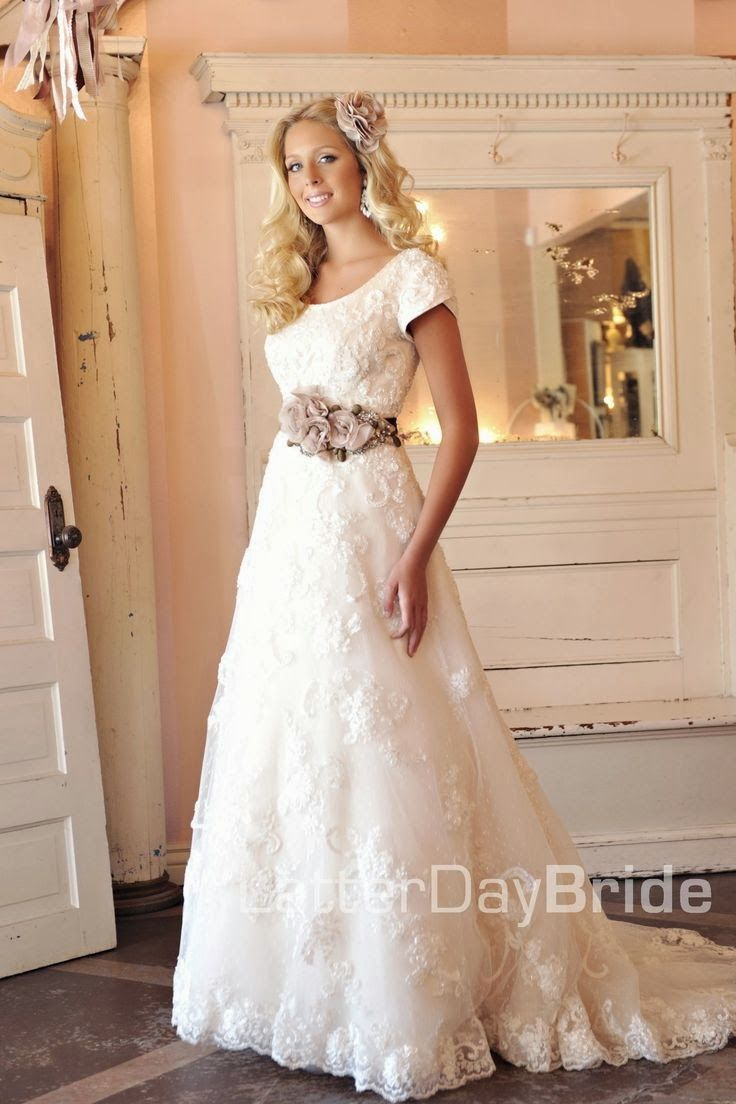 mormon weddings 3 country dresses for weddings Modest Wedding Dresses Latter Day