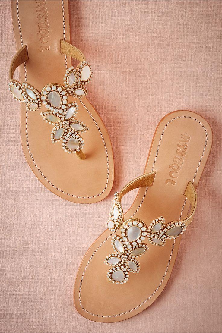 bridesmaid sandals wedding sandals Adonia Wedding Sandals by Mystique for BHLDN