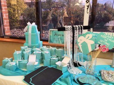 Tiffany themed Bridal/Wedding Shower Party Ideas   Bridal ...