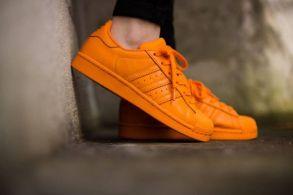 adidas Originals Superstar Supercolor by Pharrell Williams (Bright Orange)