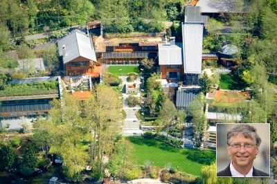 Bill Gates – $147.5 million | Million dollar homes | Pinterest | Mansions, Bill gates and Home