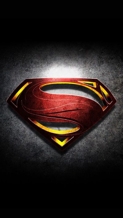 Cool iPhone 5 Wallpapers Superman Logo is be the best of HD wallpapers for iPhone and Android ...