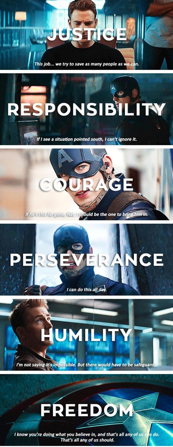 captain america quotes captain america wedding band The Values of Captain America