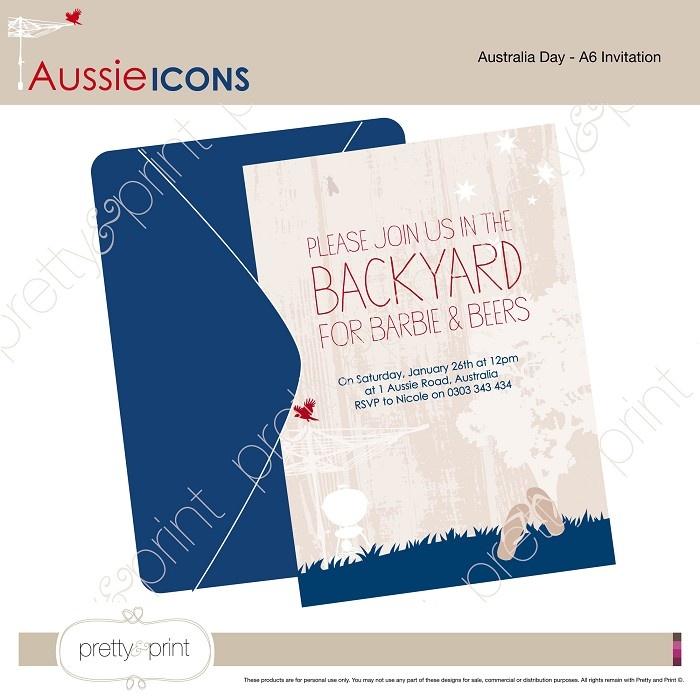Australia Day Party Invitations Free | Invitationswedd.org