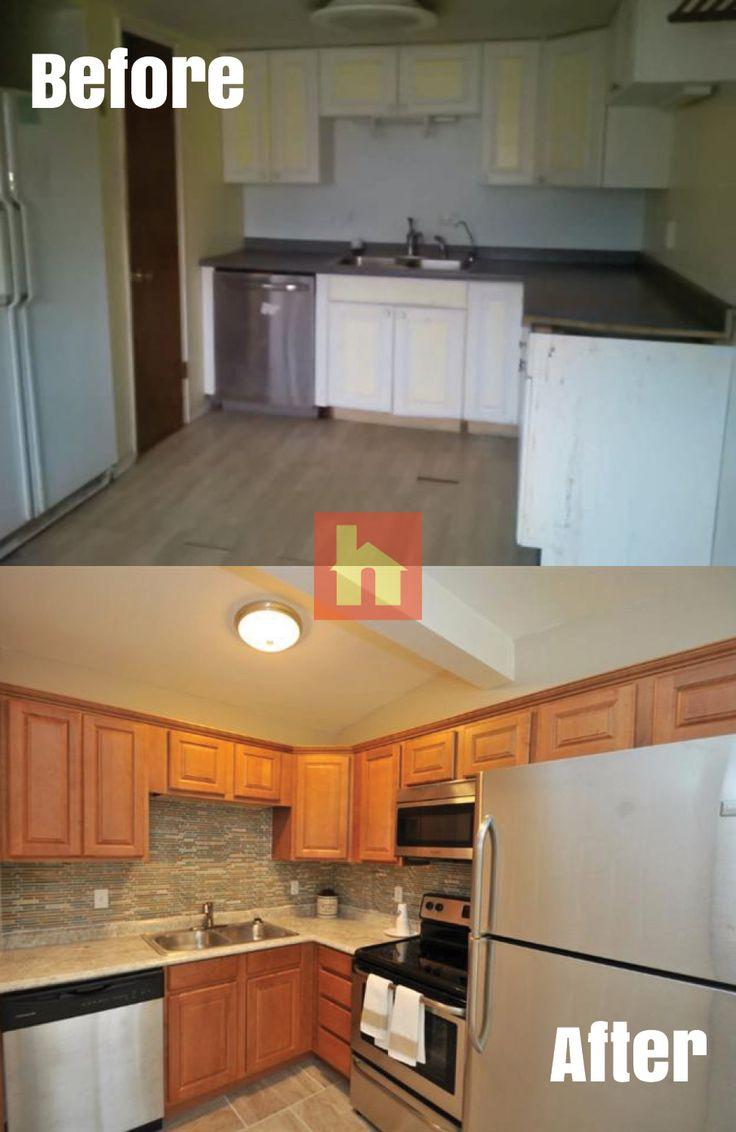 home remodeling kitchen cabinets cincinnati Kitchen makeover by Pam R Cincinnati OH Complete Kitchen gut and remodel