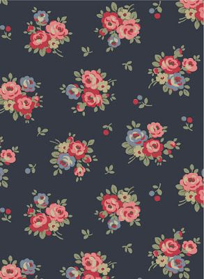 Love navy. Detest Cath Kidston, if this is hers I will have to let it go. Pretty... | Duvet ...
