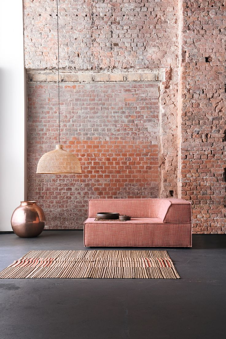 blush and brick corner sectional fabric armchair trio wall furniture the