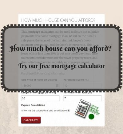 1000+ ideas about Mortgage Calculator on Pinterest | Online Mortgage, Mortgage Rates and ...