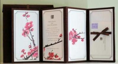 Japanese Wedding Invitation Card   WEDDINGS   Pinterest ...