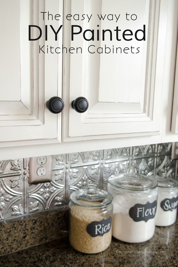painted cupboards painted kitchen cabinets How to Paint Kitchen Cabinets with Chalk Paint