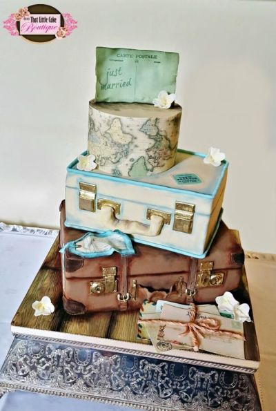 25+ best ideas about Suitcase Cake on Pinterest   Luggage ...