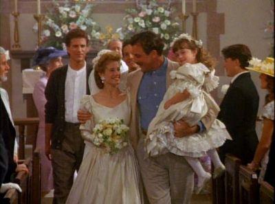 Three Men and a Lady wedding scene | Wedding Dresses in ...