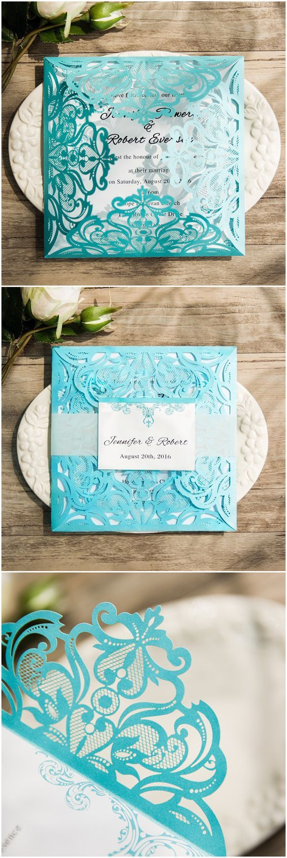 tiffany wedding invitations tiffany blue wedding invitations 25 Best Ideas about Tiffany Wedding Invitations on Pinterest Tiffany wedding Tiffany blue flowers and Teal wedding invitations