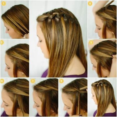 latest and beautiful step by step hairstyles for girls by ...