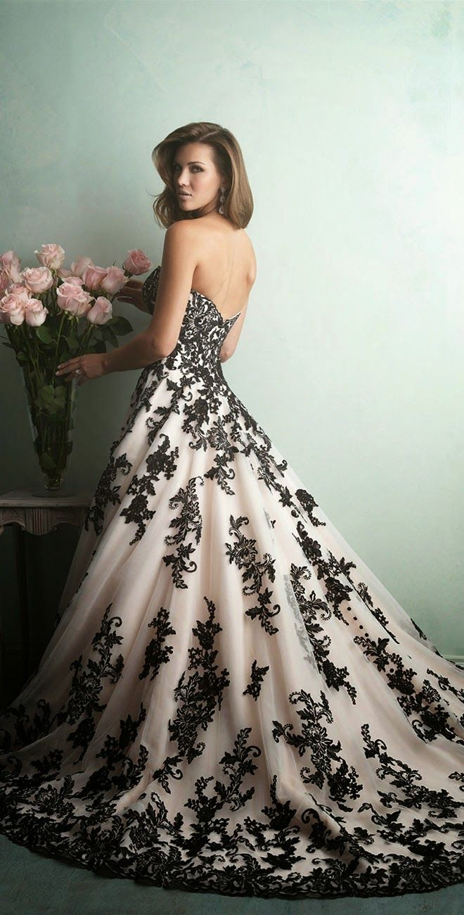 alternative wedding dresses black wedding dress Best Wedding Dresses of