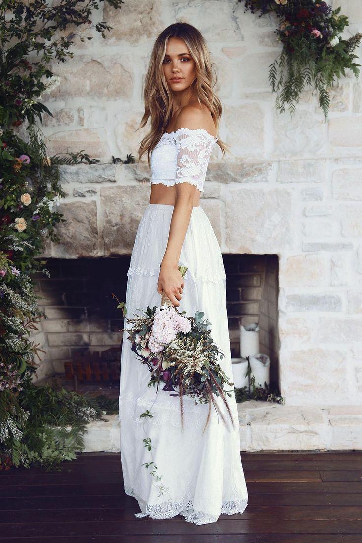 grace loves lace boho wedding dresses Jasmine 2 0 Grace Loves Lace Bohemian Wedding DressesBohemian WeddingsWedding