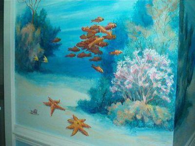 25+ best ideas about Sea murals on Pinterest | Ocean mural, Kids murals and Ocean kids rooms