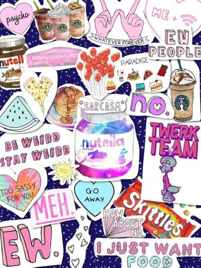 Tumblr transparents collage | iPhone wallpaper | Pinterest | Stay weird, iPhone wallpapers and ...