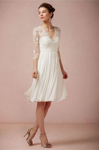 older bride wedding dresses second wedding Wedding Dresses for Second Marriages Over 50 Omari Dress in Bride Wedding Dresses at BHLDN