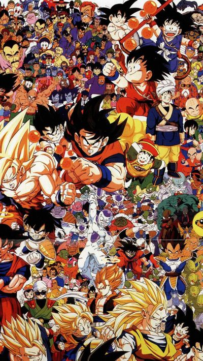 Dragonball Full Art Illust Game Anime iPhone 6 wallpaper | de todo | Pinterest | Best Wallpaper ...