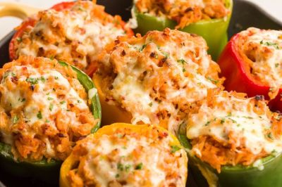 17 Best ideas about Turkey Stuffed Peppers on Pinterest | Skinnytaste stuffed peppers, Ground ...