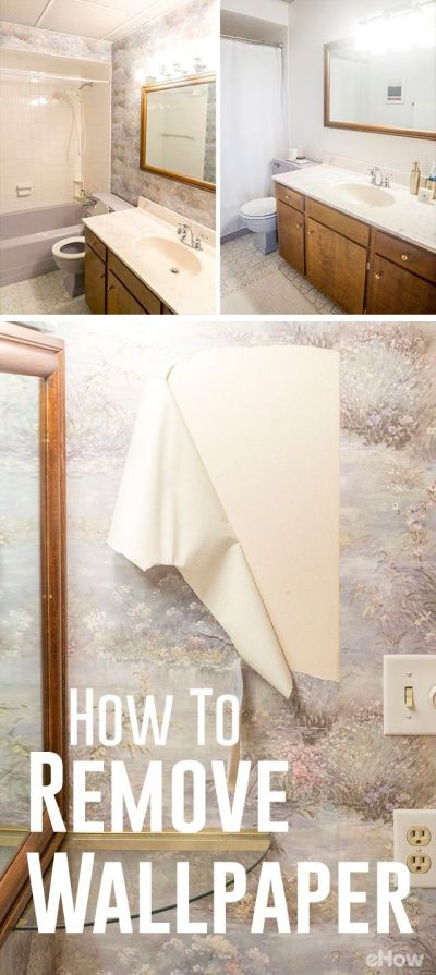 1000+ ideas about Painting Over Wallpaper on Pinterest | Remove wallpaper, Butcher block top and ...