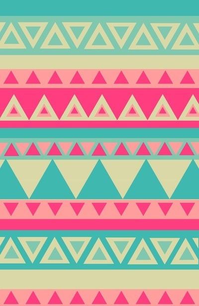 Aztec design! So cute!   Wallpapers   Pinterest   Delta gamma crafts, Tribal prints and Aztec