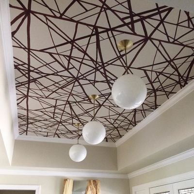 Best 25+ Wallpaper ceiling ideas on Pinterest