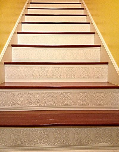 Best 25+ Painted Stair Risers ideas on Pinterest | Painted steps, Painted stairs and Stair risers