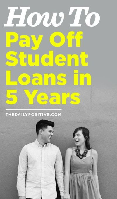 How to Pay off Student Loans in 5 Years (scheduled via http://www.tailwindapp.com?utm_source ...
