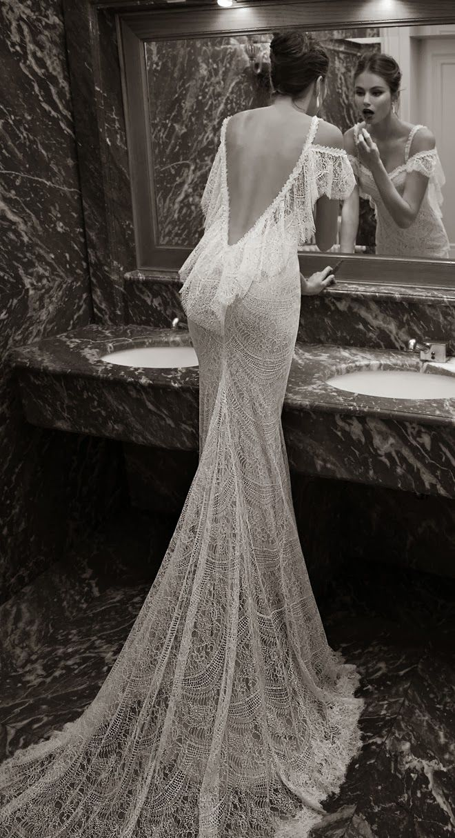 the prettiest day open back wedding dresses Berta Bridal Winter Collection