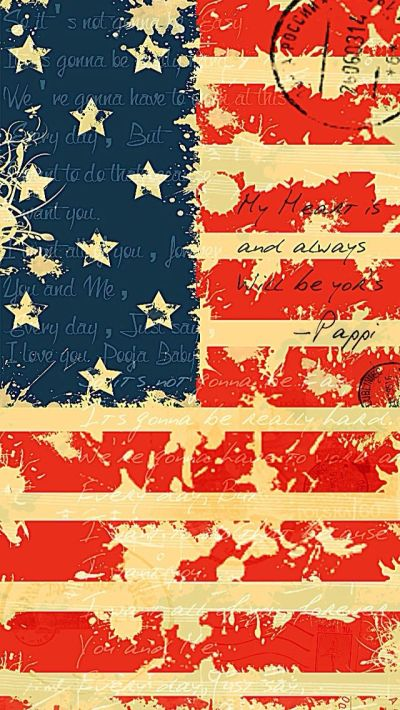 USA Flag - #wordings iPhone wallpaper @mobile9 | iPhone 7 & iPhone 7 Plus Wallpapers, Cases ...