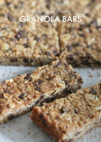 25+ best ideas about Chewy granola bars on Pinterest   Healthy homemade granola bars, Homemade ...