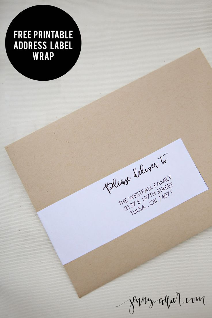 address labels wedding address labels Address Label Wrap Printable