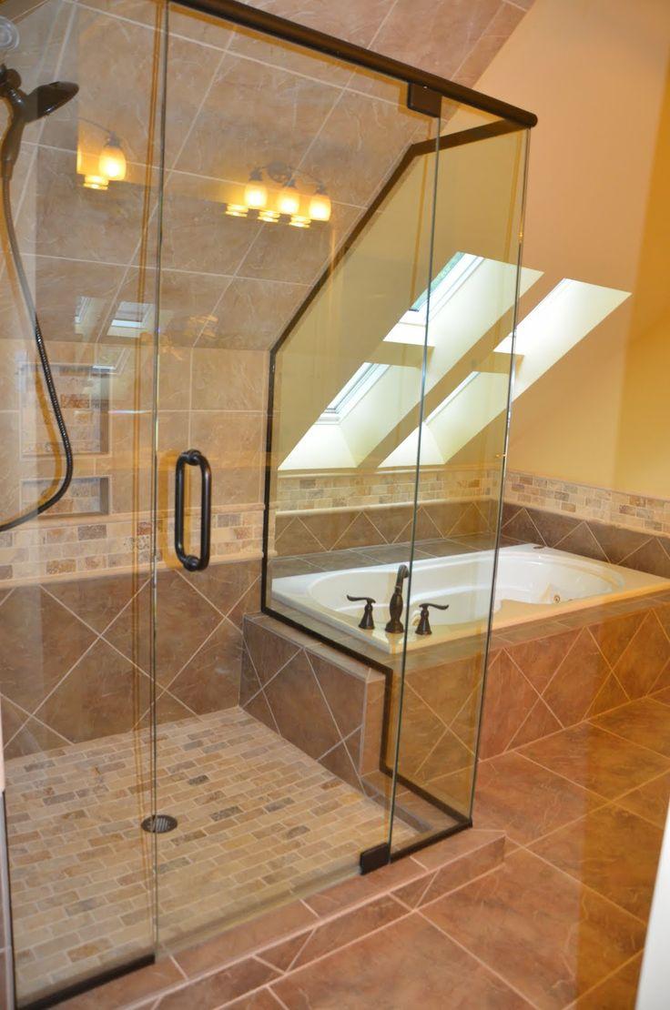 Modren Bathroom Remodeling Cary Nc Trendmark Inc Raleigh On Design