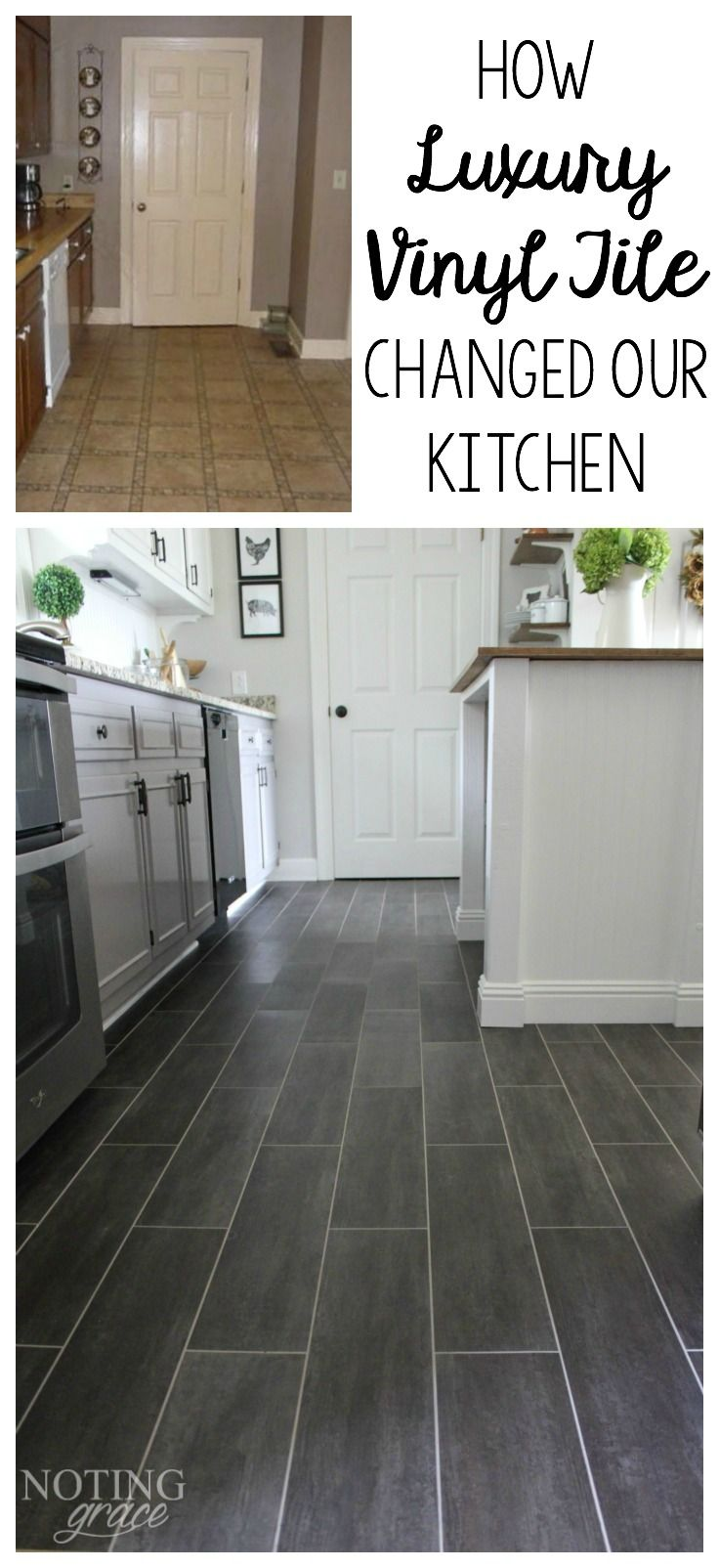 flooring kitchen laminate flooring How we changed our kitchen in 3 days for less than
