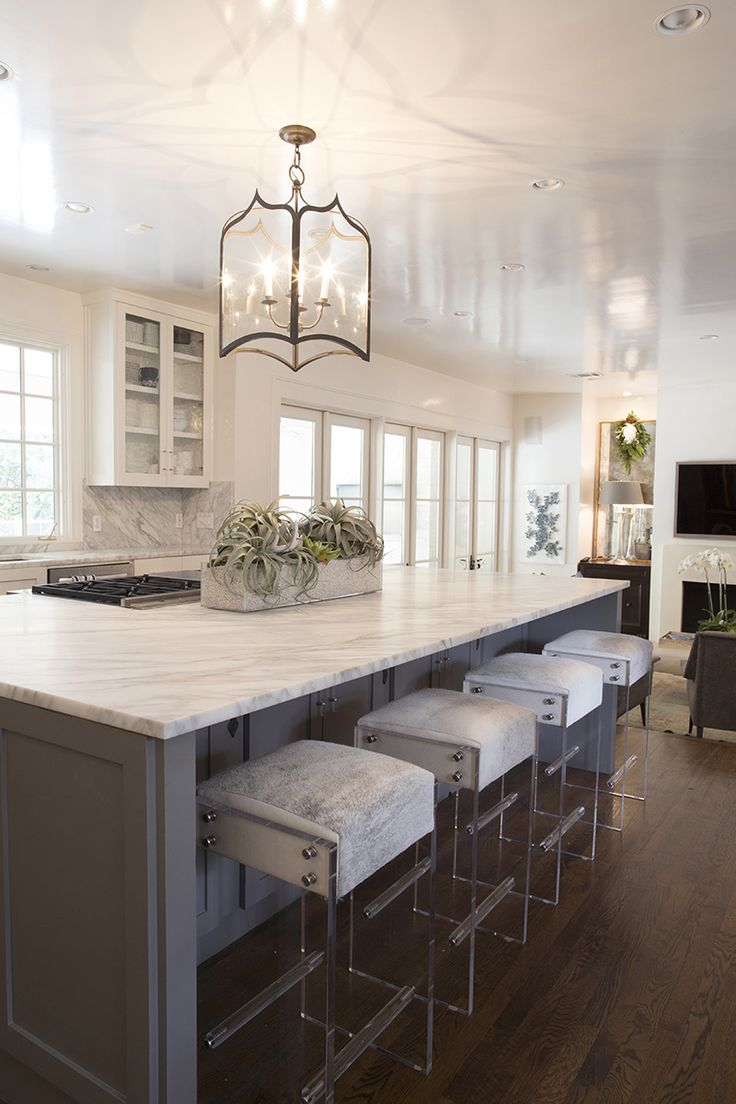 waterfall furniture countertop stools kitchen Kendra s kitchen and lucite bar stools KendraScott
