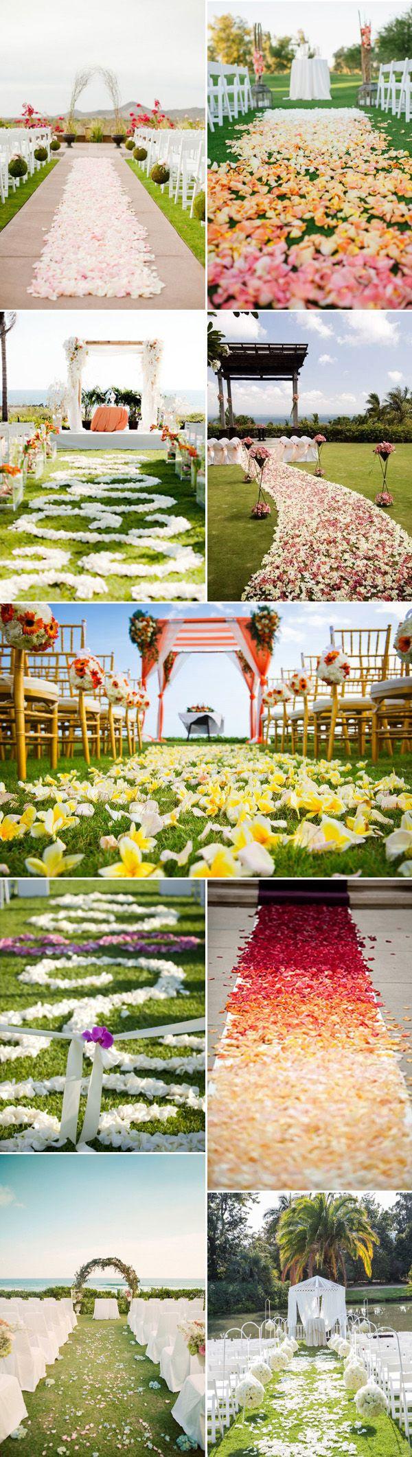 aisle runners wedding runners petals wedding aisle runners for romantic outdoor wedding ideas