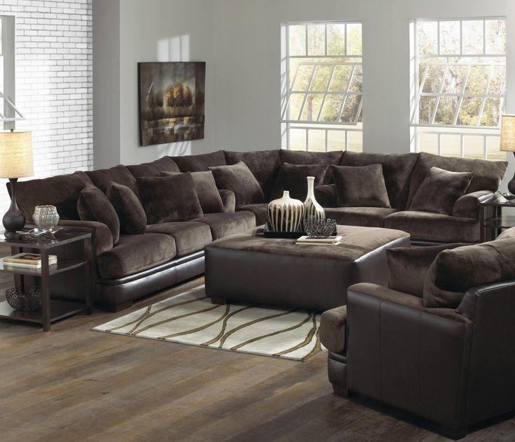 furniture u0026 furnishing rustic style of wooden laminate flooring idea with dark brown sofa using cushions grey walls