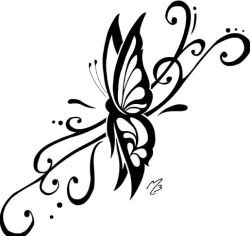 Images Of Butterflies To Draw Photo