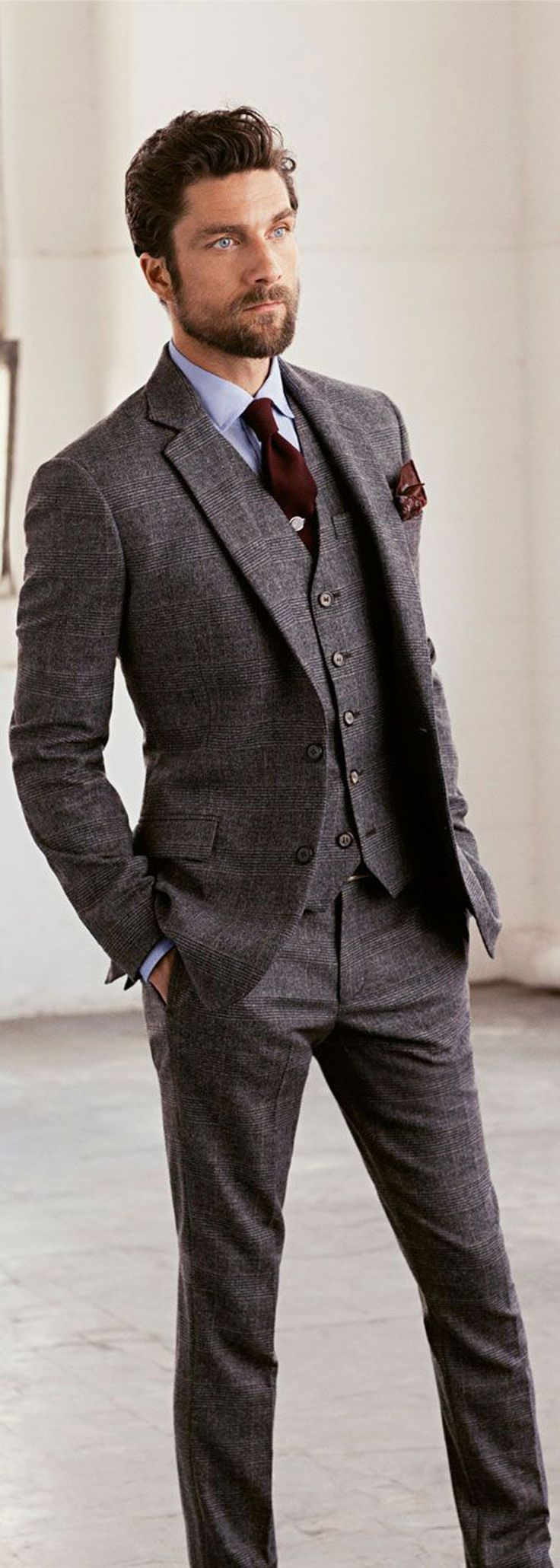 groom suits wedding suits Wedding Ideas by Colour Grey Wedding Suits Alternative Fabric CHWV