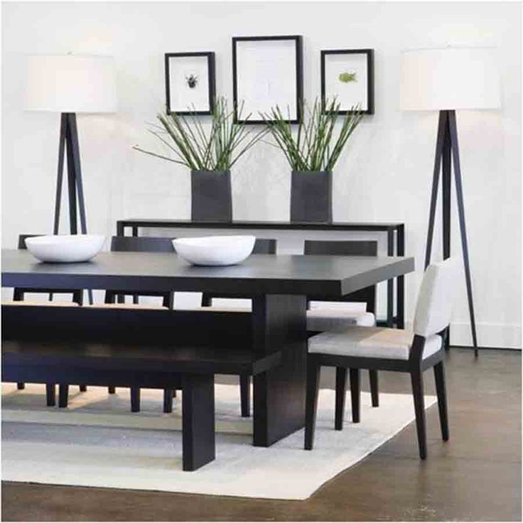 wonderful modern dining room decorating ideas for small space minimalist black and white furniture decor