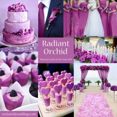 10 Awesome Wedding Colors You Haven't Thought Of | Purple ...