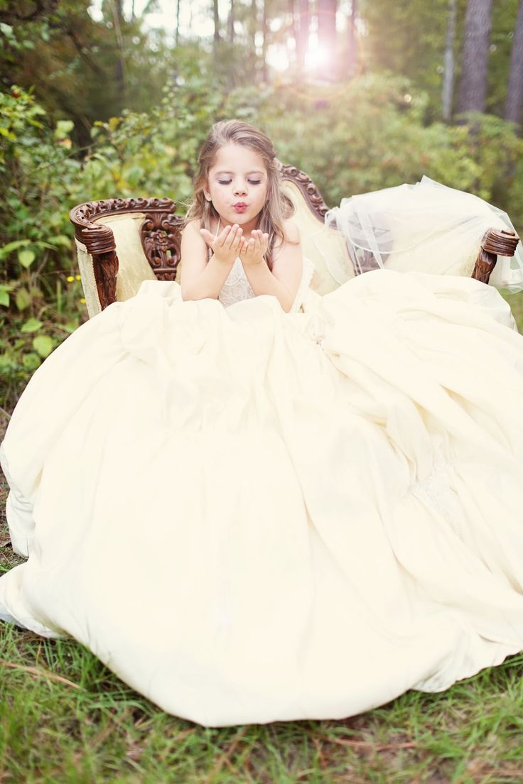 girls dresses for weddings Take a picture of your daughter in your wedding dress Child photography Southern Shutter Photography LLC Pinterest Pictures of Wedding and Moms