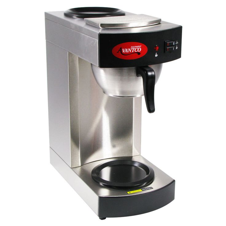 Beautiful Commercial Coffee Machine Avantco 12 Cup Pourover Intended Decorating
