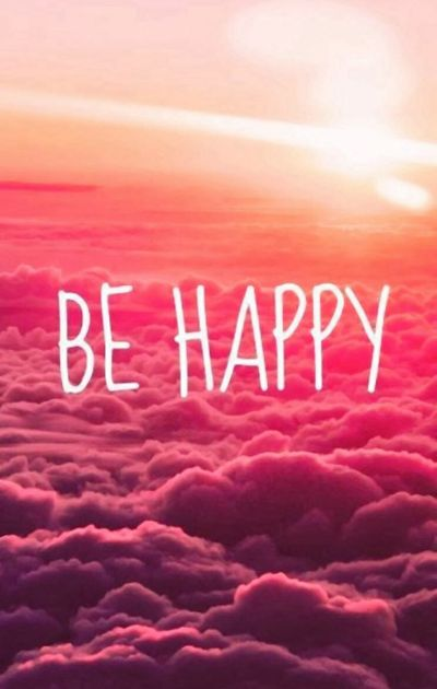 BE HAPPY ... iPhone wallpaper | Frases ~ | Pinterest | Happy, Wallpapers and Phone Wallpapers