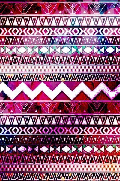 Pink-purple aztec print | wallpaper | Pinterest | Aztec, Aztec Prints and My Style