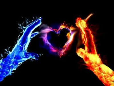 Water and fire join together | Blue and Red | Pinterest | Fire and Water
