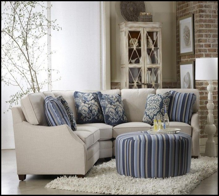 Small Scale Sectional Sofa Apartment Scale Furniture ...